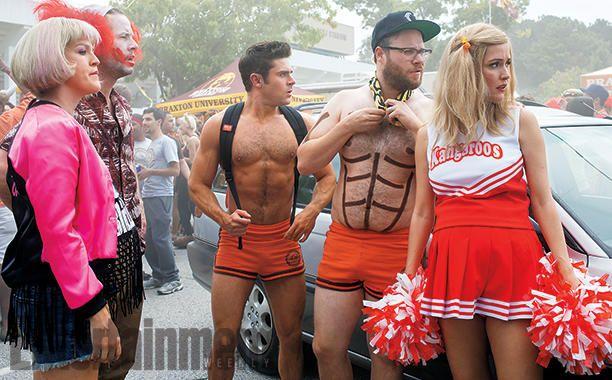 Nuevas Fotos de Neighbors 2, Zac Efron y Chloë Grace Moretz en escena – Cinéfilos | Cinefanático #cine