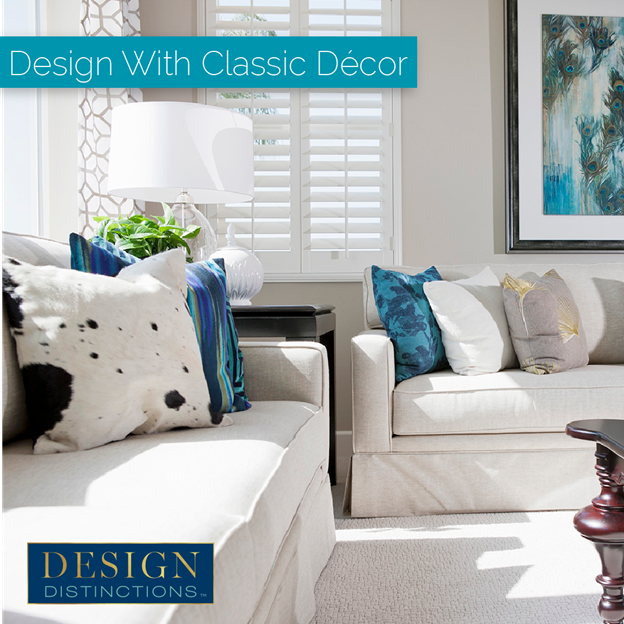 White home decor, from your couch to your floor, is a