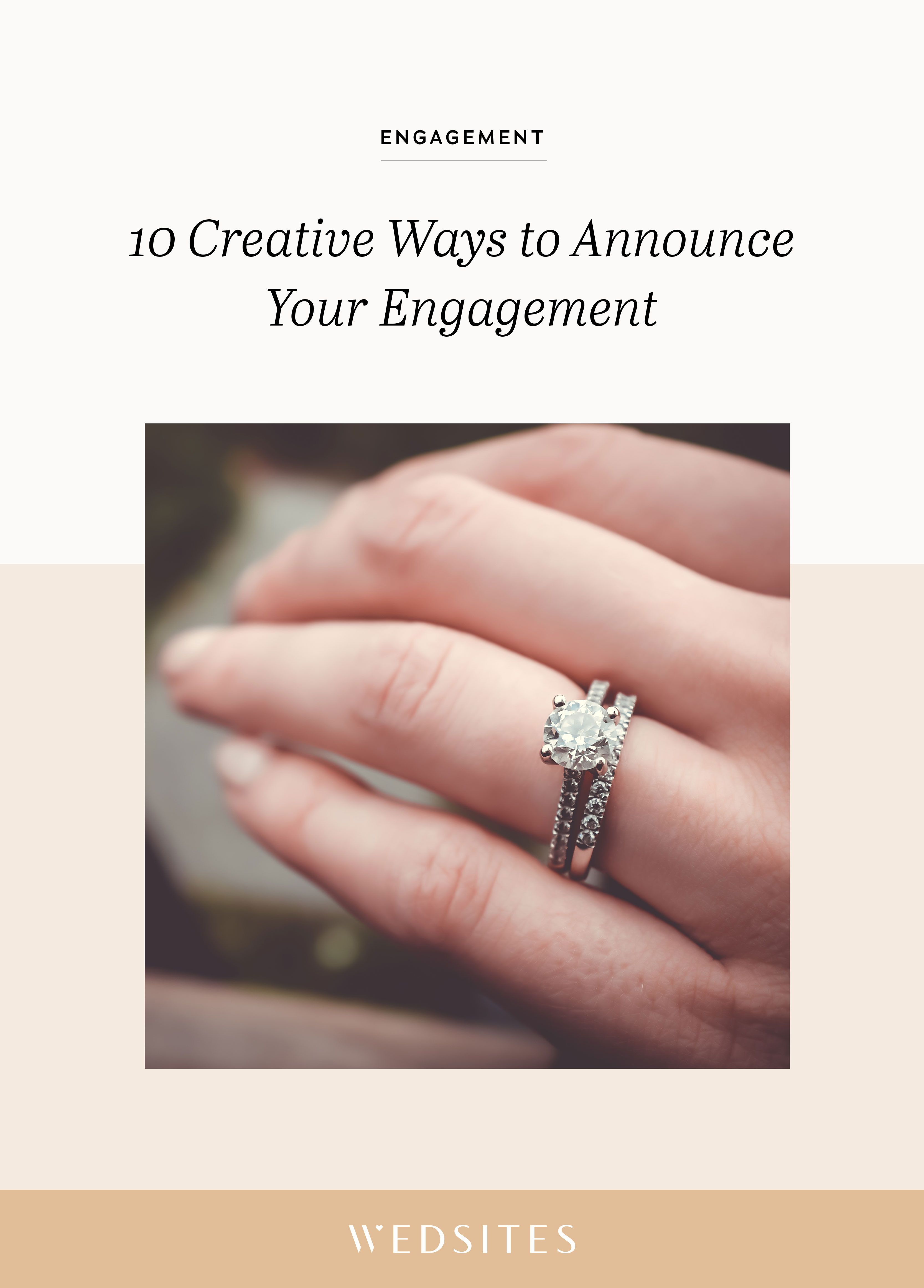 Getting engaged is an incredible moment that both you and your ...