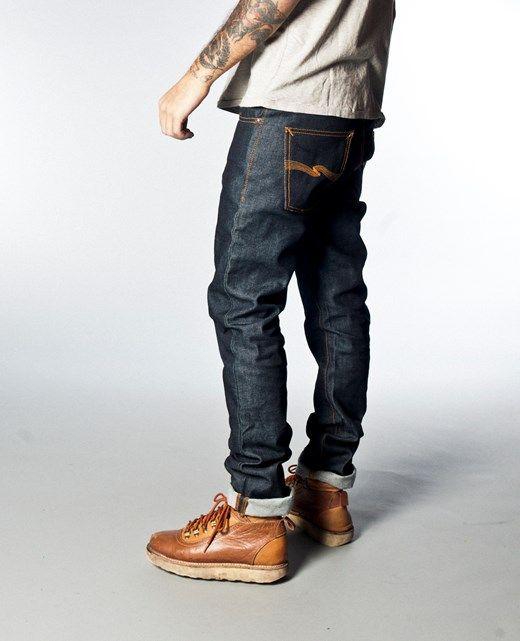 Grim Tim Dry Dirt Organic - Nudie Jeans Co Online Shop