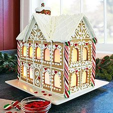 Most awesome gingerbread house EVER!