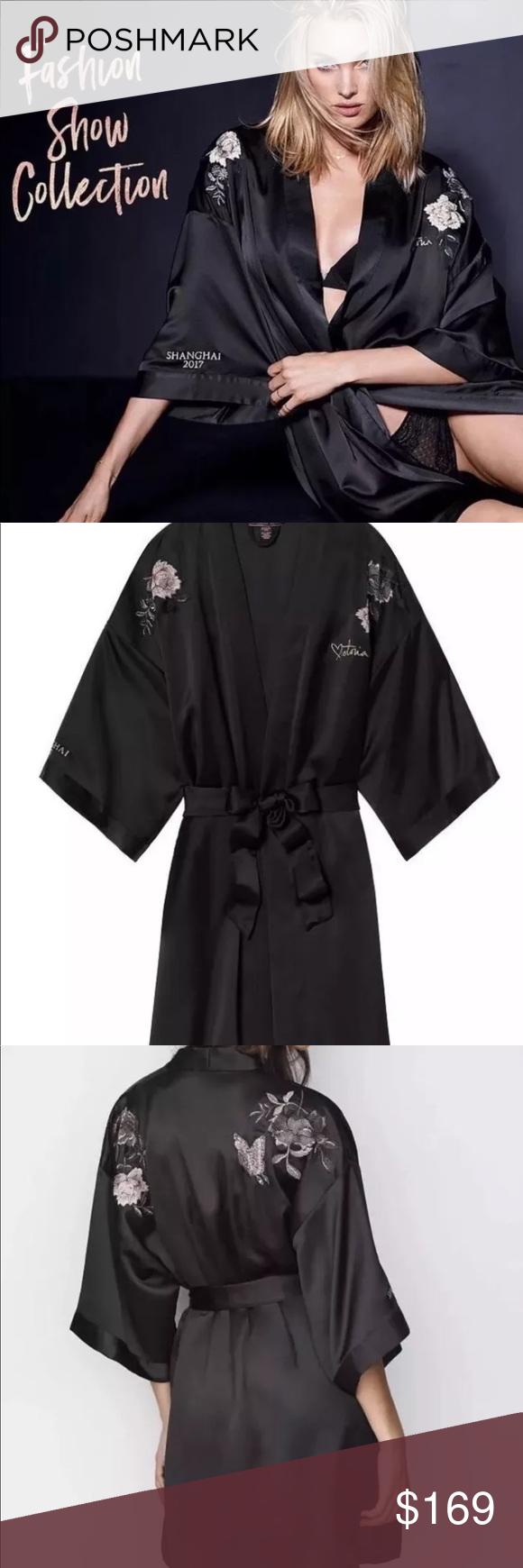 673fb1cfa9 Victoria s secret 2017 Shanghai fashion show robe Brand new with tag Size  M L Victoria s Secret Intimates   Sleepwear Robes