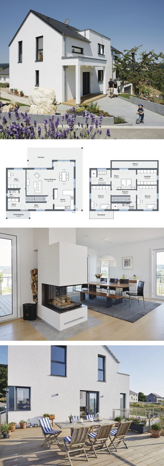 Photo of Modern house with separate apartment – WeberHaus | direct construction