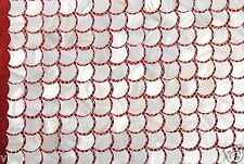 Mother Of Pearl Mosaic Tiles River Bed White  Pearl Shell scallope /fan shape