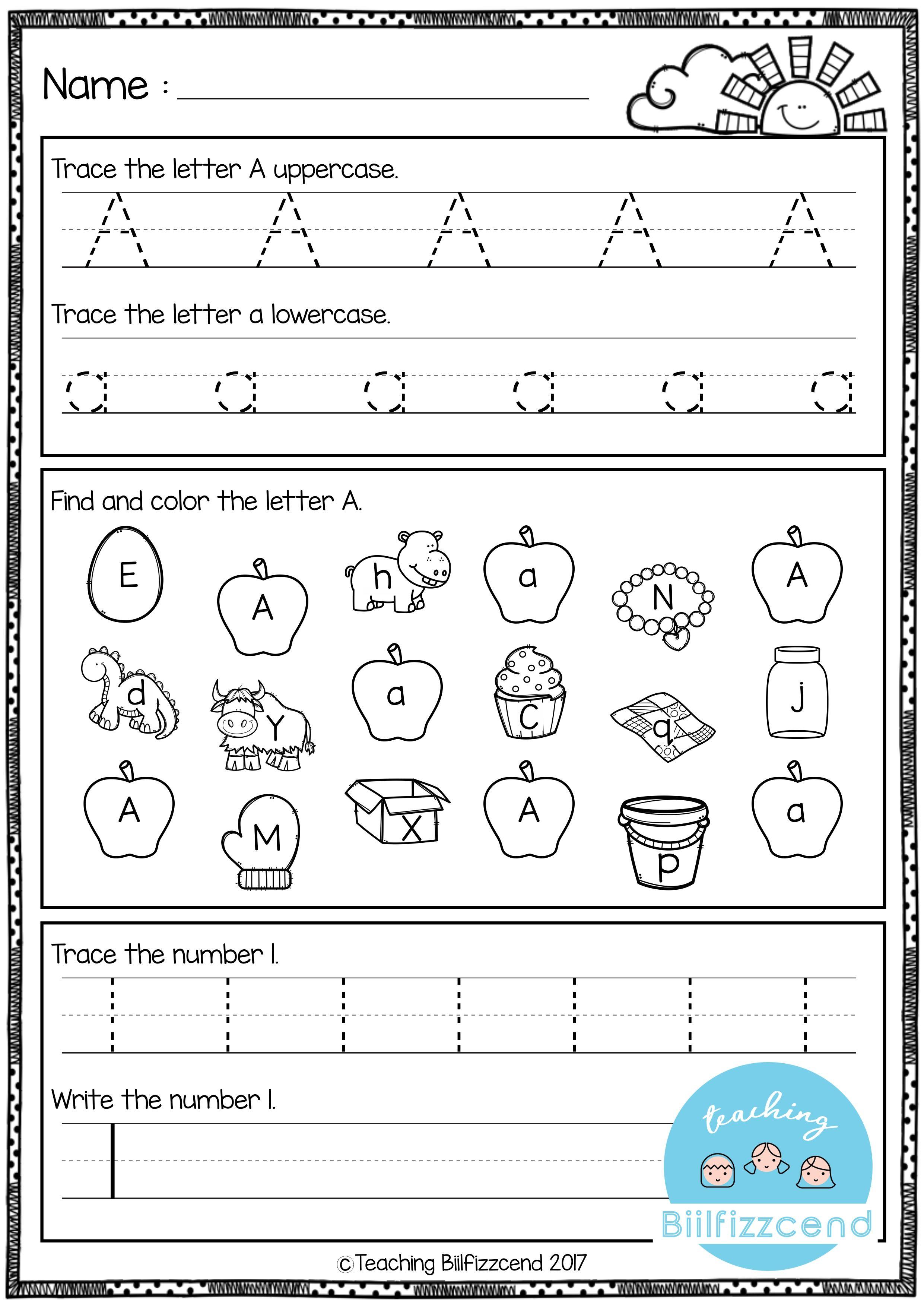 Kindergarten Morning Work All Year The Bundle