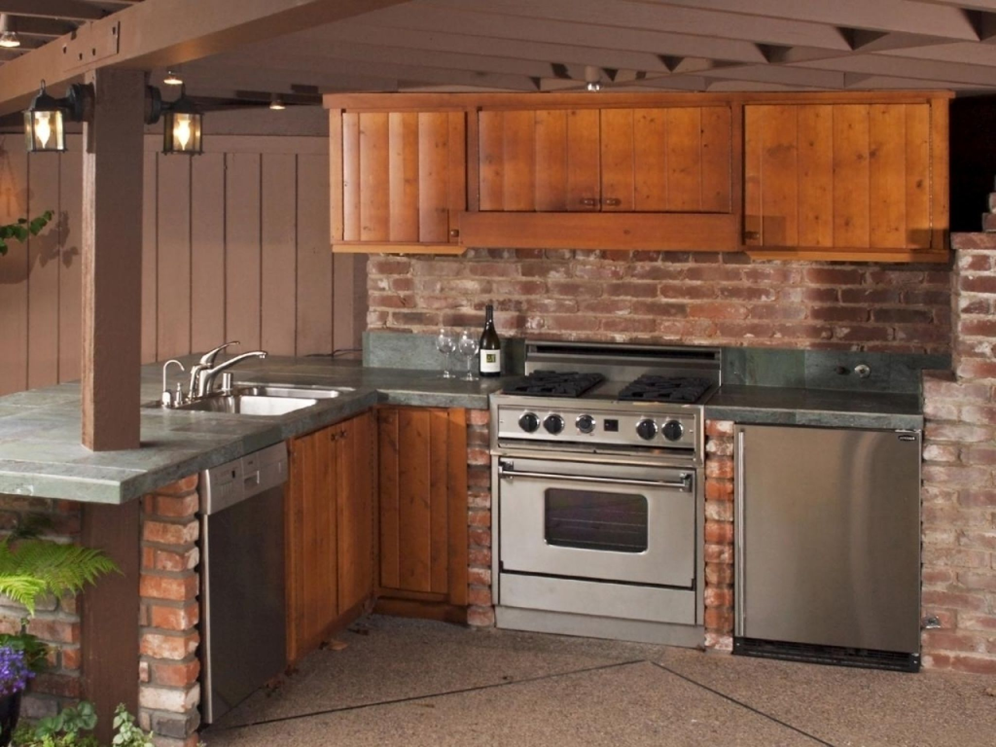 Lowes Outdoor Kitchen Cabinets  Best Interior Wall Paint  Home Mesmerizing Best Outdoor Kitchen Designs Design Ideas