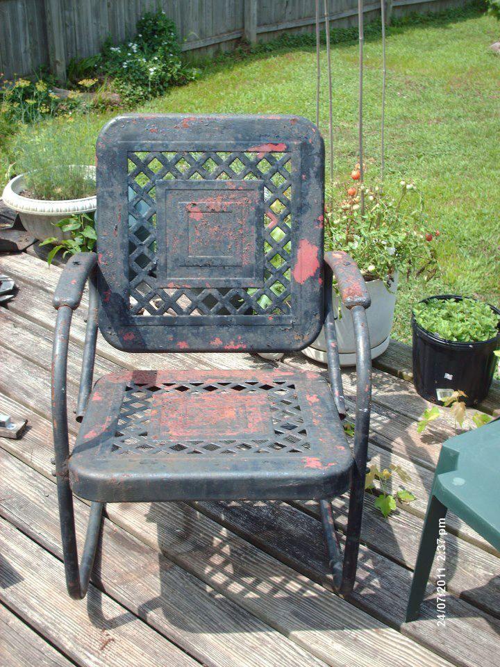 Motel Chair From Flea Market Gardening Fb Motel Chairs
