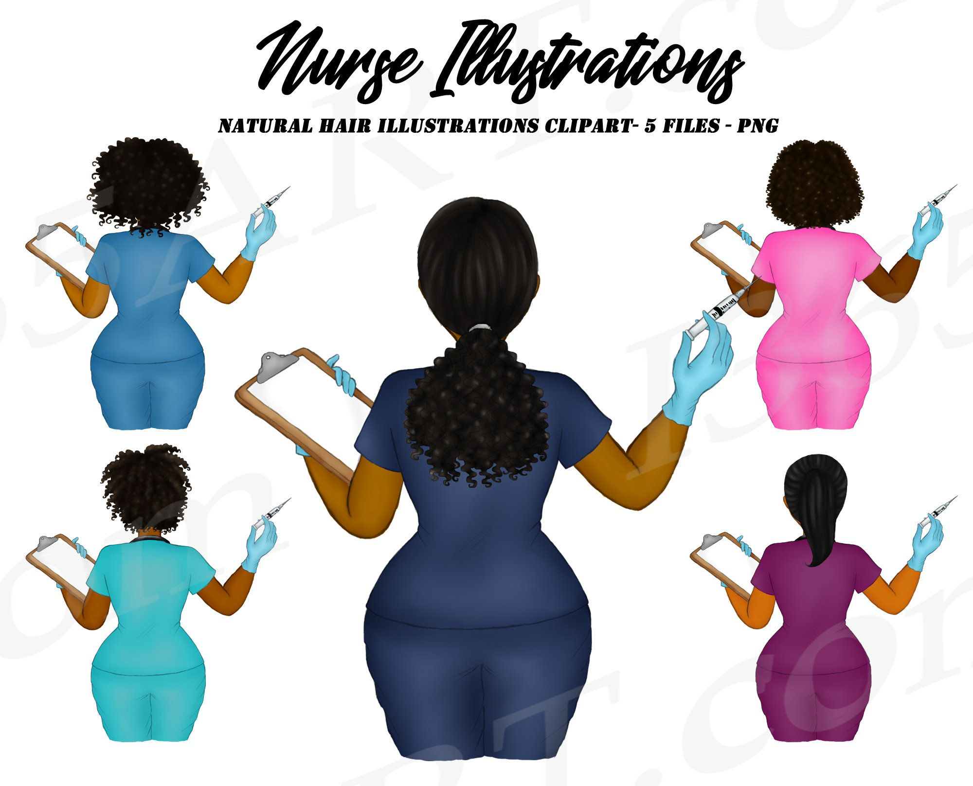 Nurse Clipart Black Nurse Clipart Rn Clipart Black Woman Etsy Girl Clipart Nurse Clip Art Clip Art