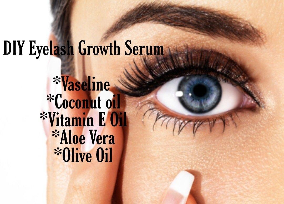 My personal DIY eyelash growth serum. I used this after I