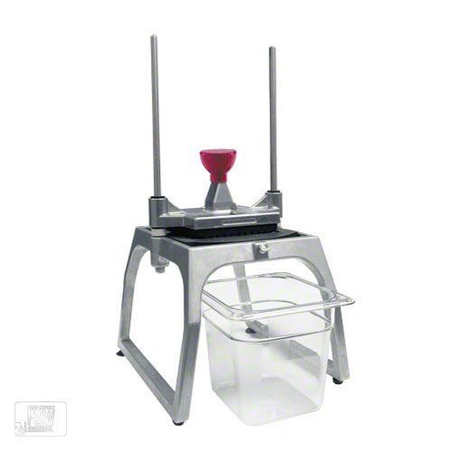 """Vollrath 55011 1/4"""" Redco® InstaCutTM 5.0 Dicer by Vollrath. $205.99. The Redco® Instacut™ 5. 0 ¼"""" Dicer (55000) takes what was a must-have piece of equipment—the Instacut™ 3. 5—and makes it even better. The Instacut™ 5. 0 can dice large vegetables and fruits three times faster and more accurately than cutting by hand. One-stroke operation produces quick, clean and effective ¼"""" dicing without damaging produce. The new base design allows for use of containers..."""