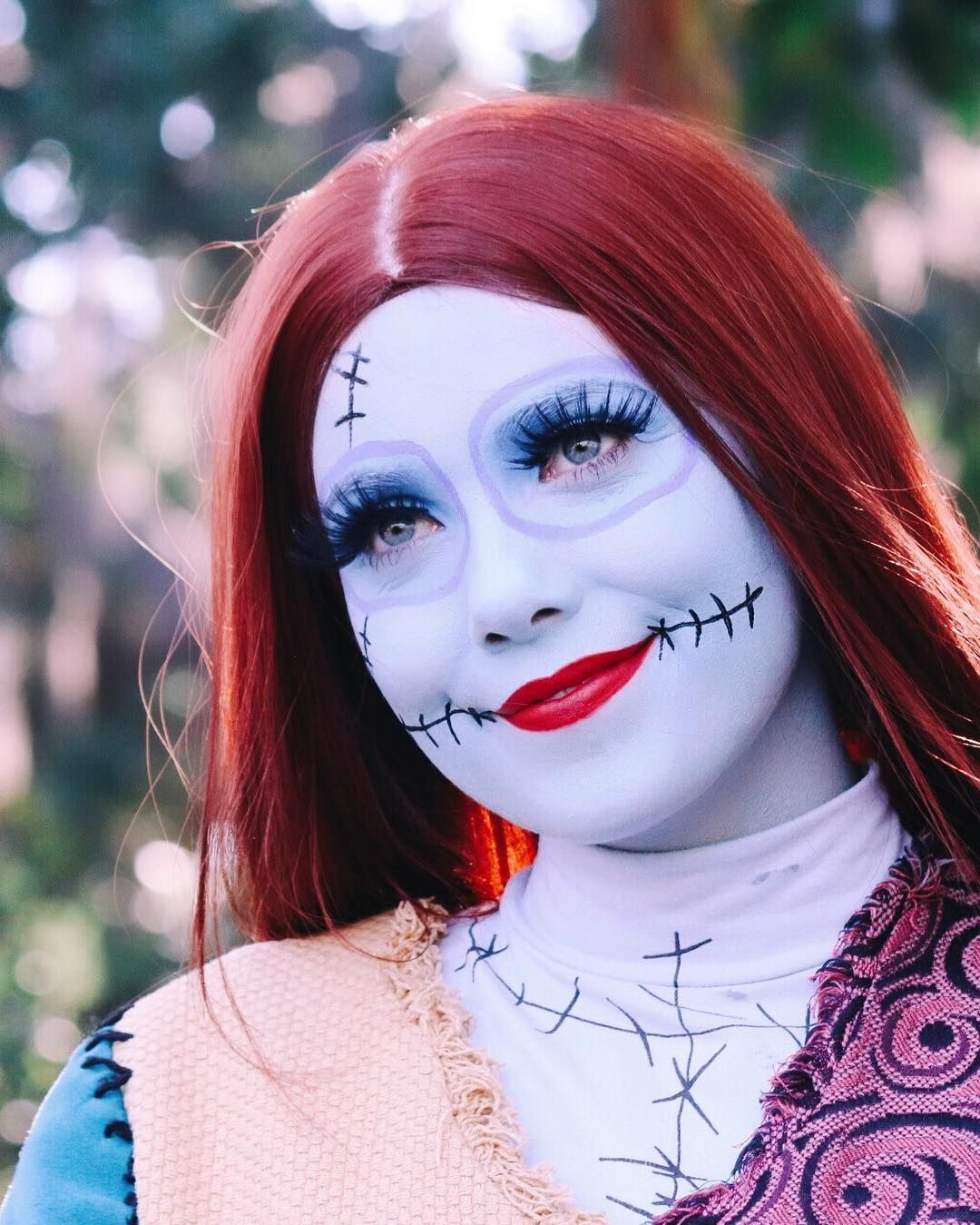 sally skellington at disneyland!
