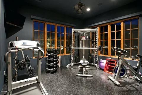21 Best Home Gym Ideas Home Gyms Pinterest At home gym, Home