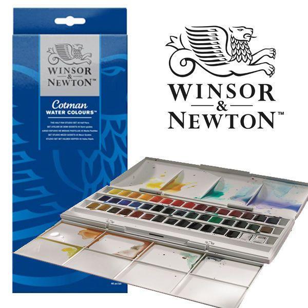 Details About Winsor Newton Cotman 45 Half Pan Studio