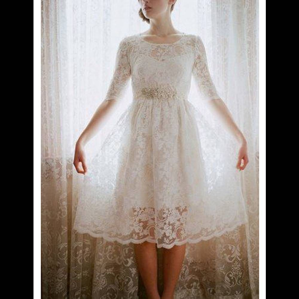 Robe de mariée rétro courte wedding dress pinterest wedding