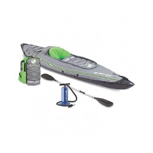 1 PERSON INFLATABLE FISHING KAYAK SPORT BOAT WATER RAFT