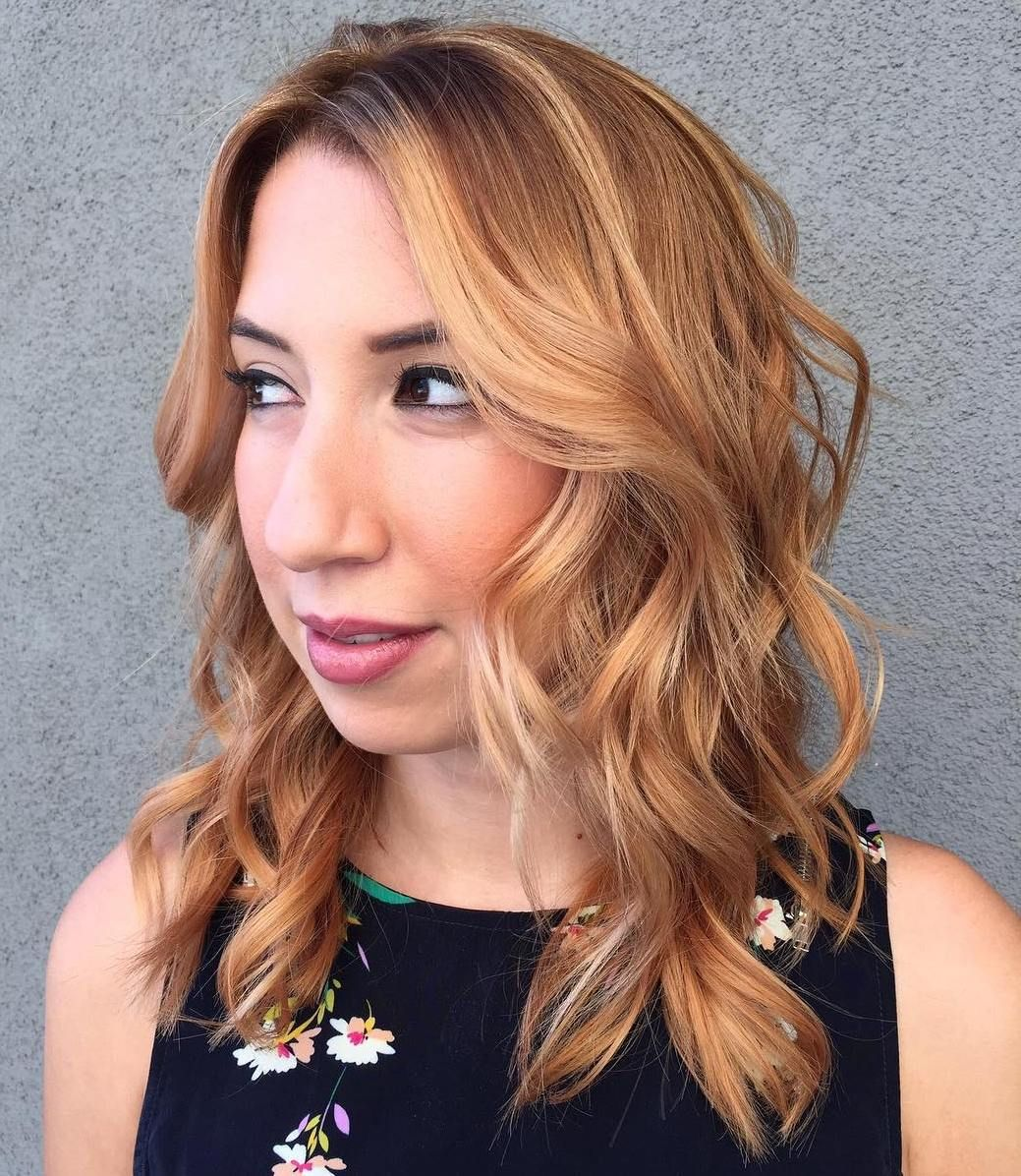super chic hairstyles for long faces to break up the length