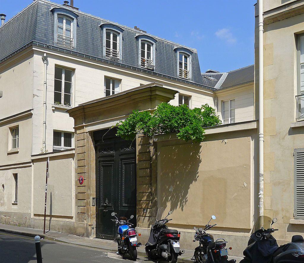 H U00f4tel Des Vertus  Xviiie  3  Rue De La Chaise Paris 75007