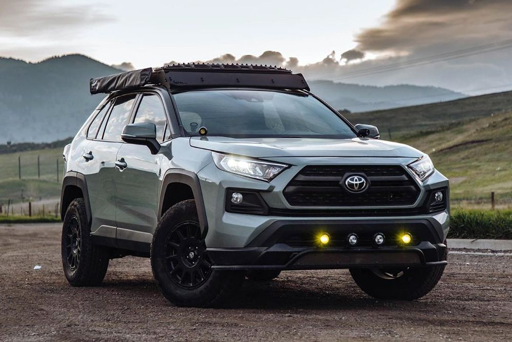 Toyota 'Radventure4' RAV4 Adventure SUV HiConsumption in