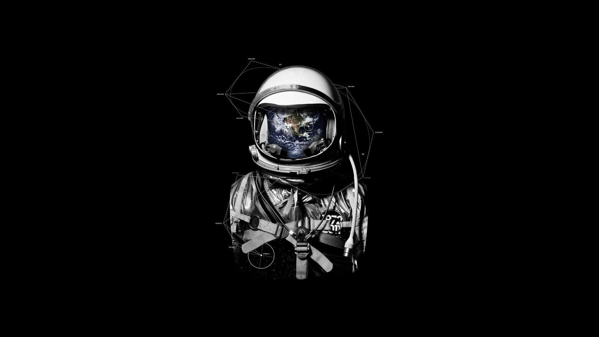 Sci Fi Astronaut Wallpaper Background 1920 X 1080