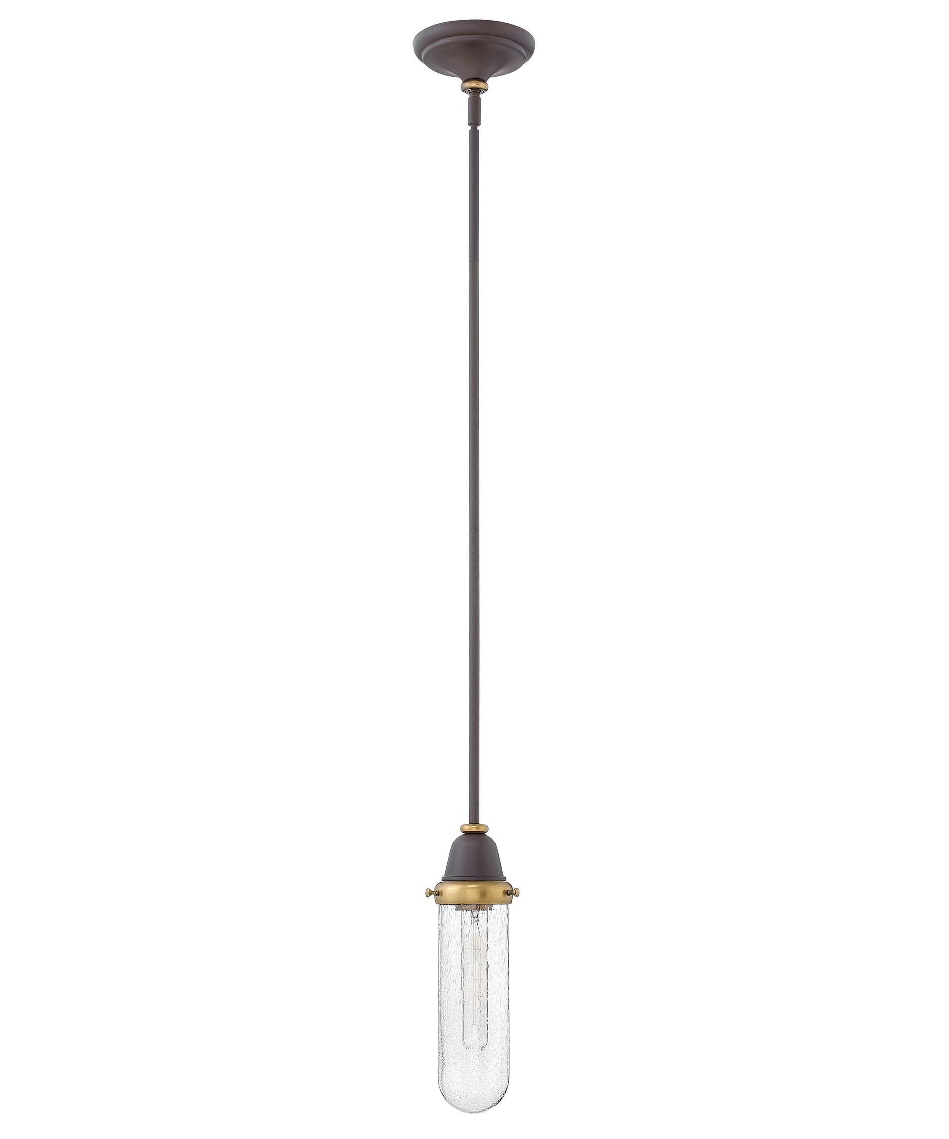 Hinkley lighting academy inch wide light mini pendant san
