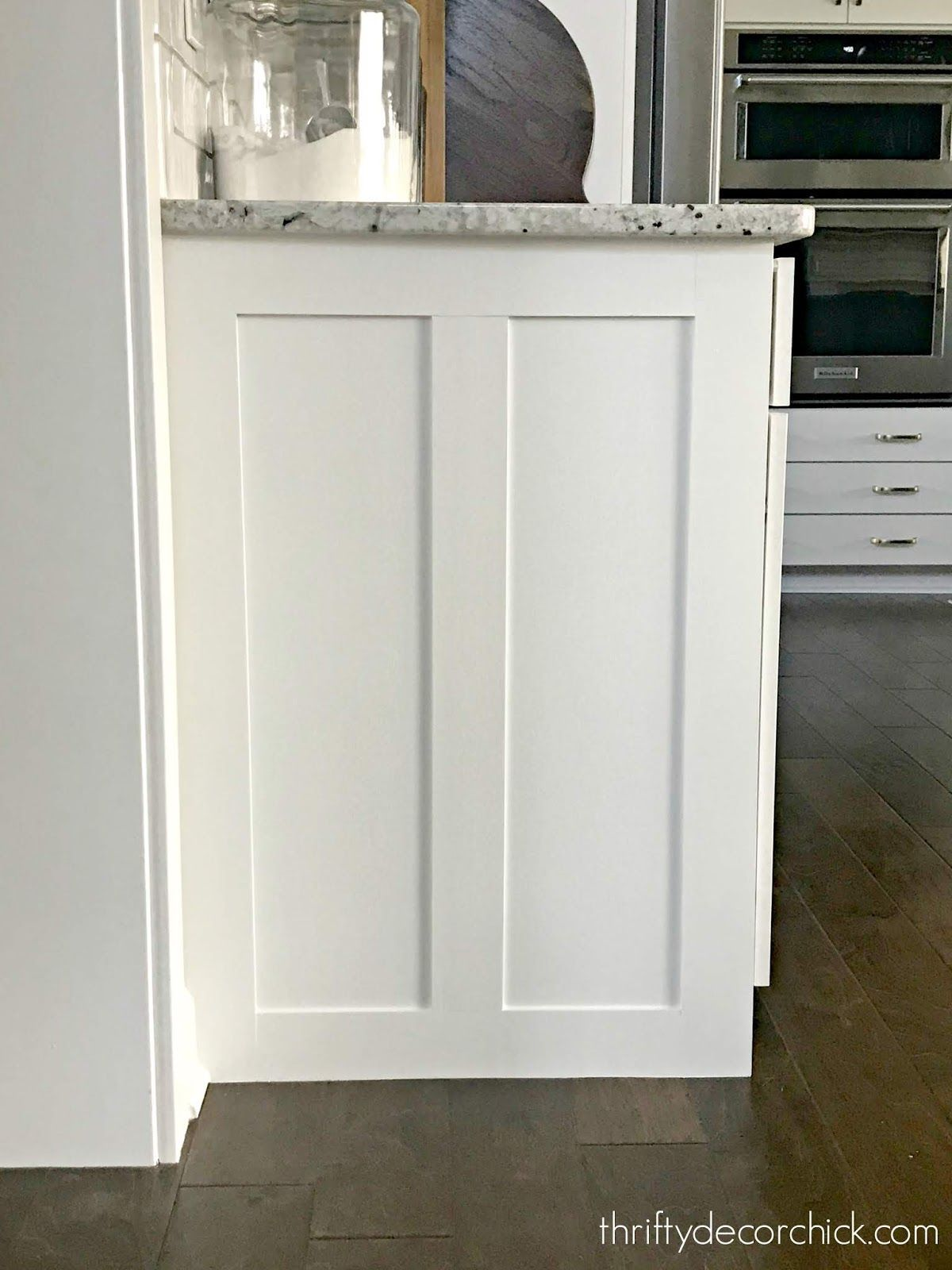 How To Upgrade The End Of Your Builder Grade Cabinets Diy Kitchen Remodel Builder Grade Kitchen Kitchen Renovation