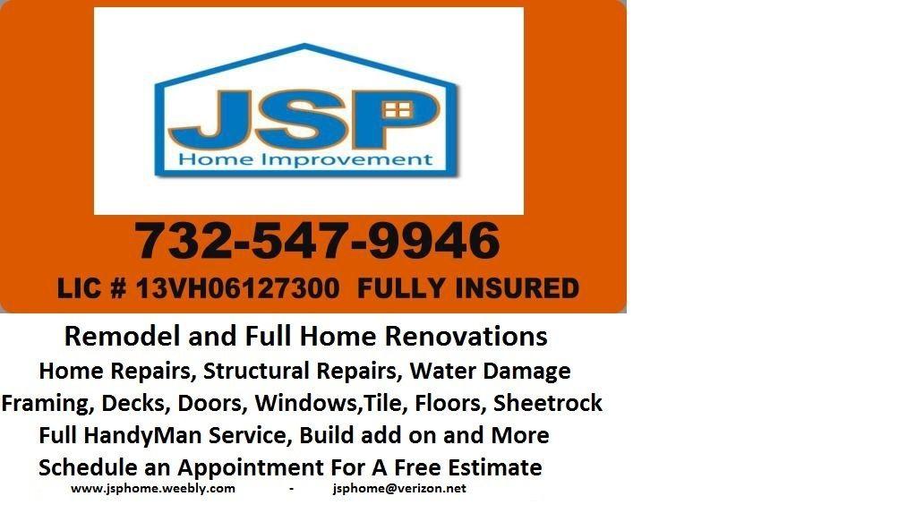 Home Improvement Contractors - info on financing home improvements