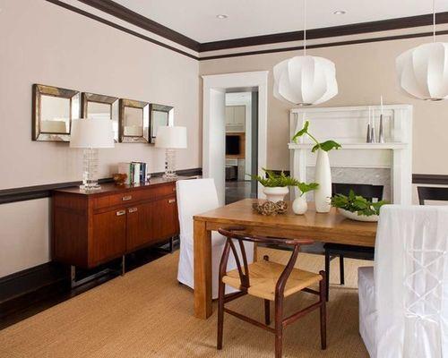 Exemple d\u0027une salle à manger ouverte sur la cuisine tendance de