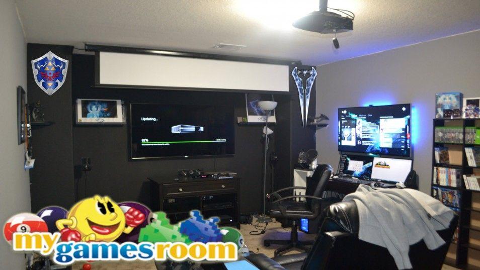 Cool Room Setups modern ligting in cool gaming rooms interior design ideas at