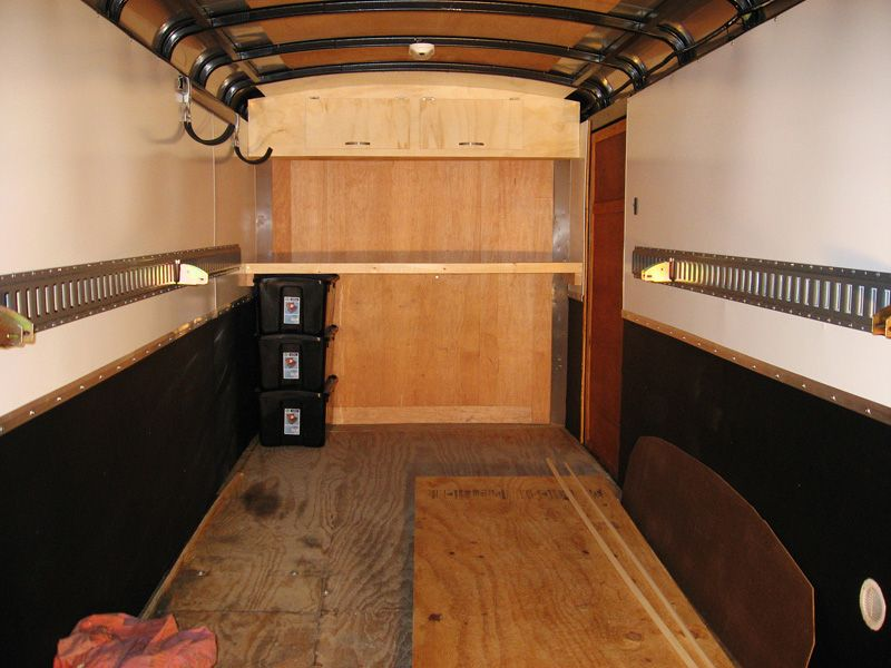 Charmant Enclosed Trailer Cabinet Ideas   Google Search