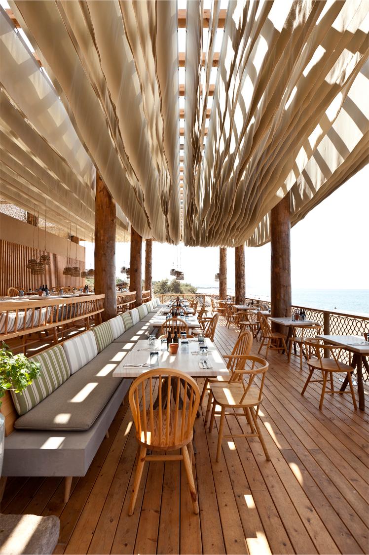 Bar Bouni Beach Restaurant Costa Navarino Greece K
