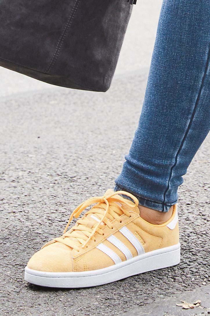 best sneakers d2119 6c311 Womens adidas Originals Campus - Orange