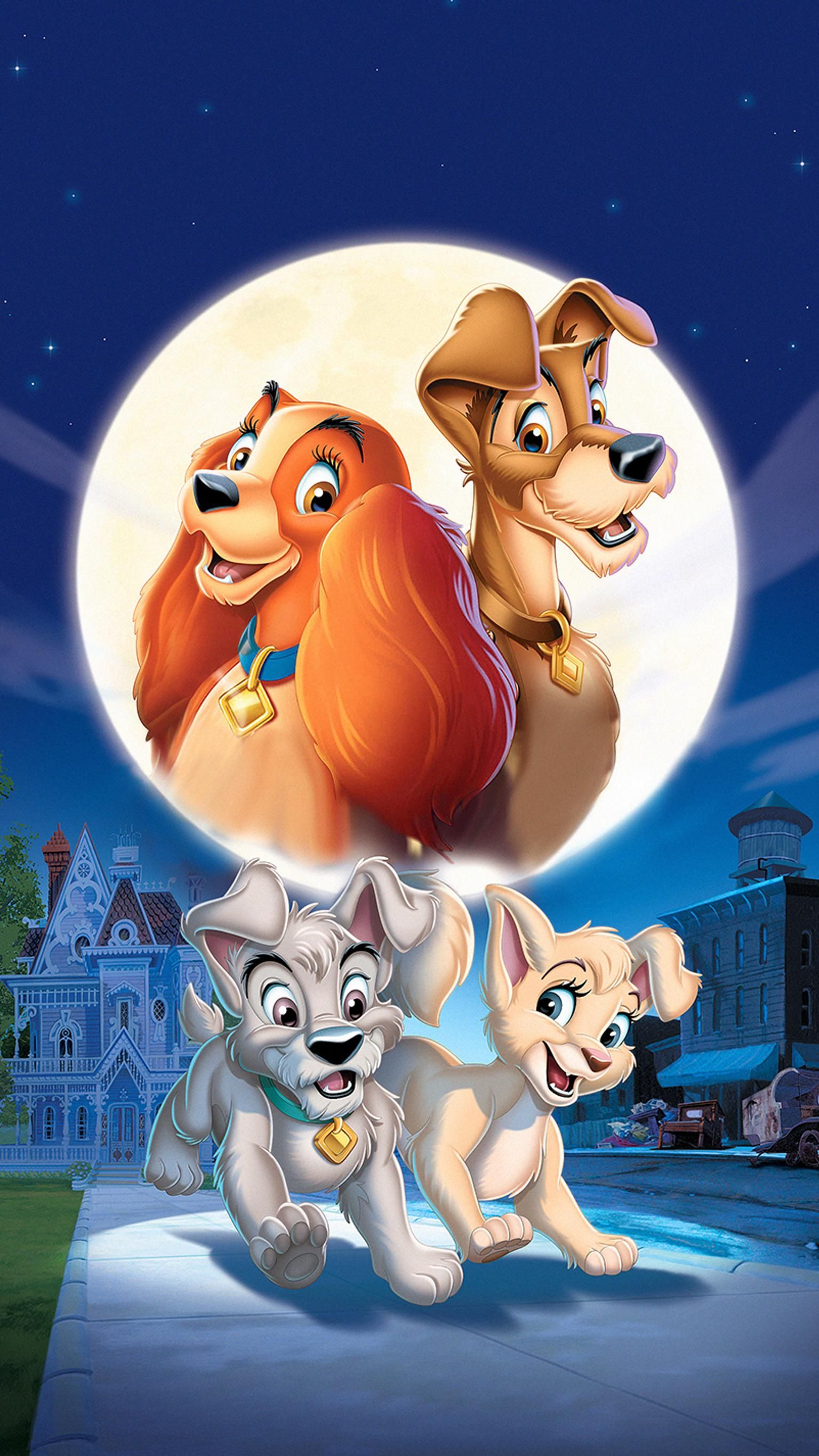 Lady and the Tramp II: Scamp's Adventure (2001) Phone Wallpaper | Moviemania