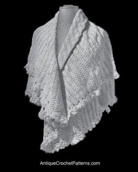 Crochet Shetland Shawl Crochet Pinterest Shawl Crochet And