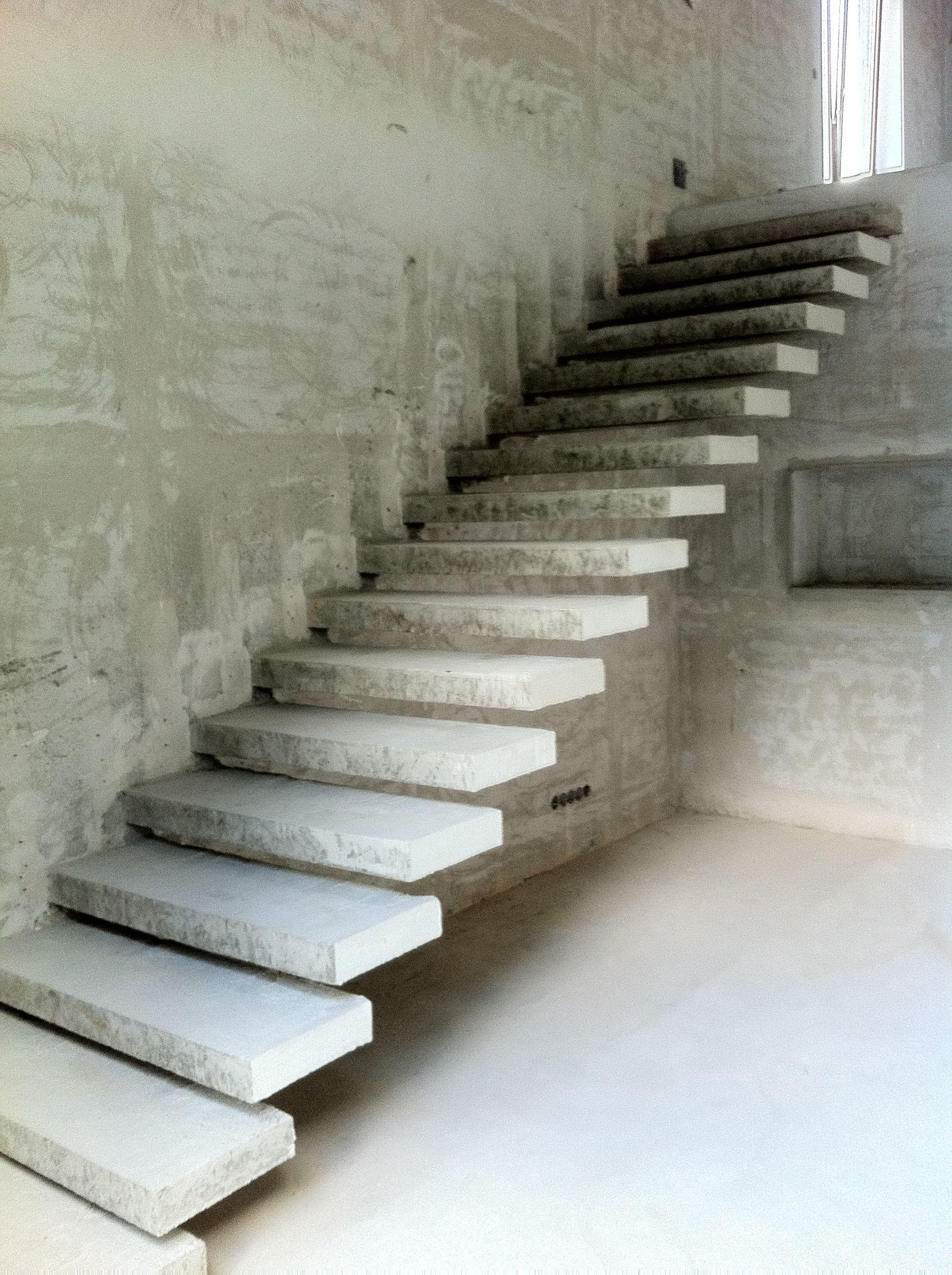 Concrete stairs DNA DESIGN   Czech Republic