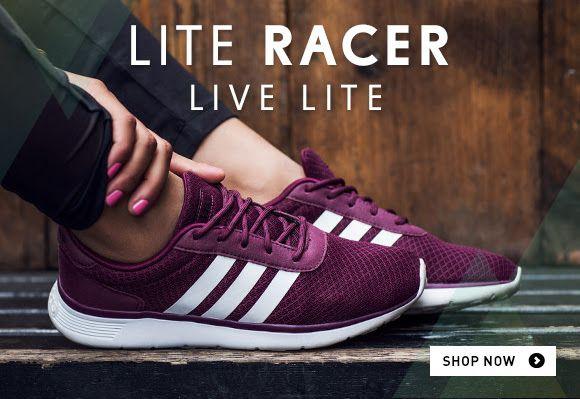 Adidas Lite Racer Bordeaux