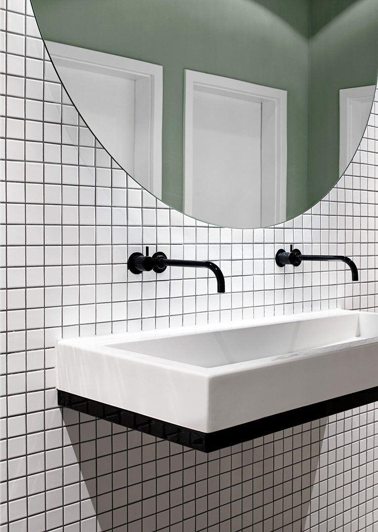 Carrelage Robinet Miroir Bathroom Design Diy Bathroom