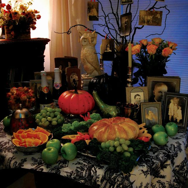 La Toussaint from A Harvest and Halloween Handbook