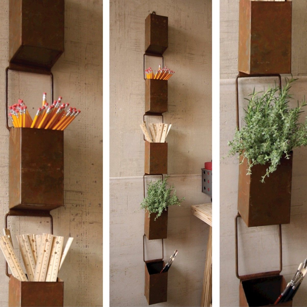 Marvelous Hanging Storage Boxes | Unique Storage Bins | Rain Chain Bins