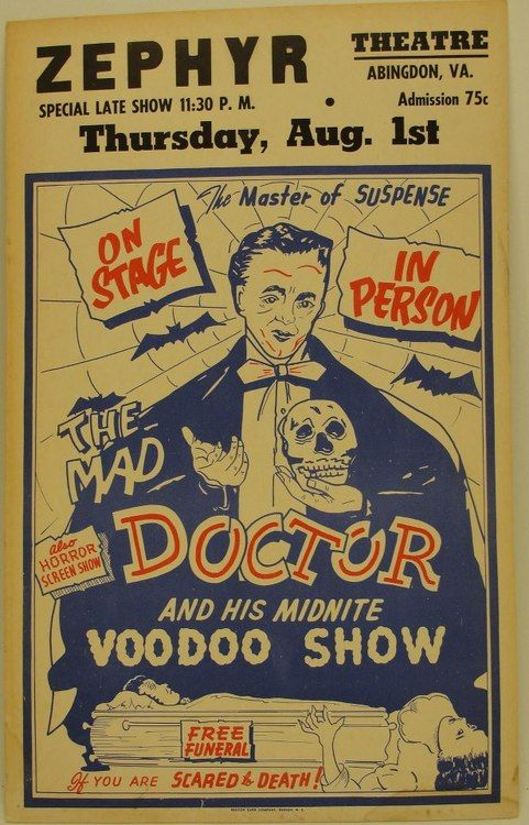 The Mad Doctor and His Midnite Voodoo Show