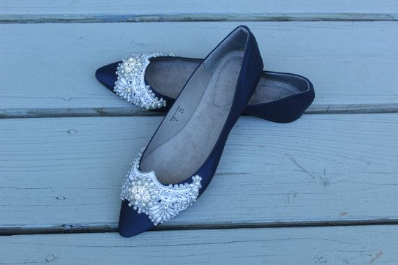 Gatsby Pointed Toe Ballet Flat Wedding shoes by BeholdenBridal Daisy Buchanan would have worn these shoes. Katie has many colours and styles to choose from and takes great care to make sure the sizes are a perfect fit for you.