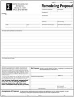 Free Print Contractor Proposal Forms  WhatS In Your Contract