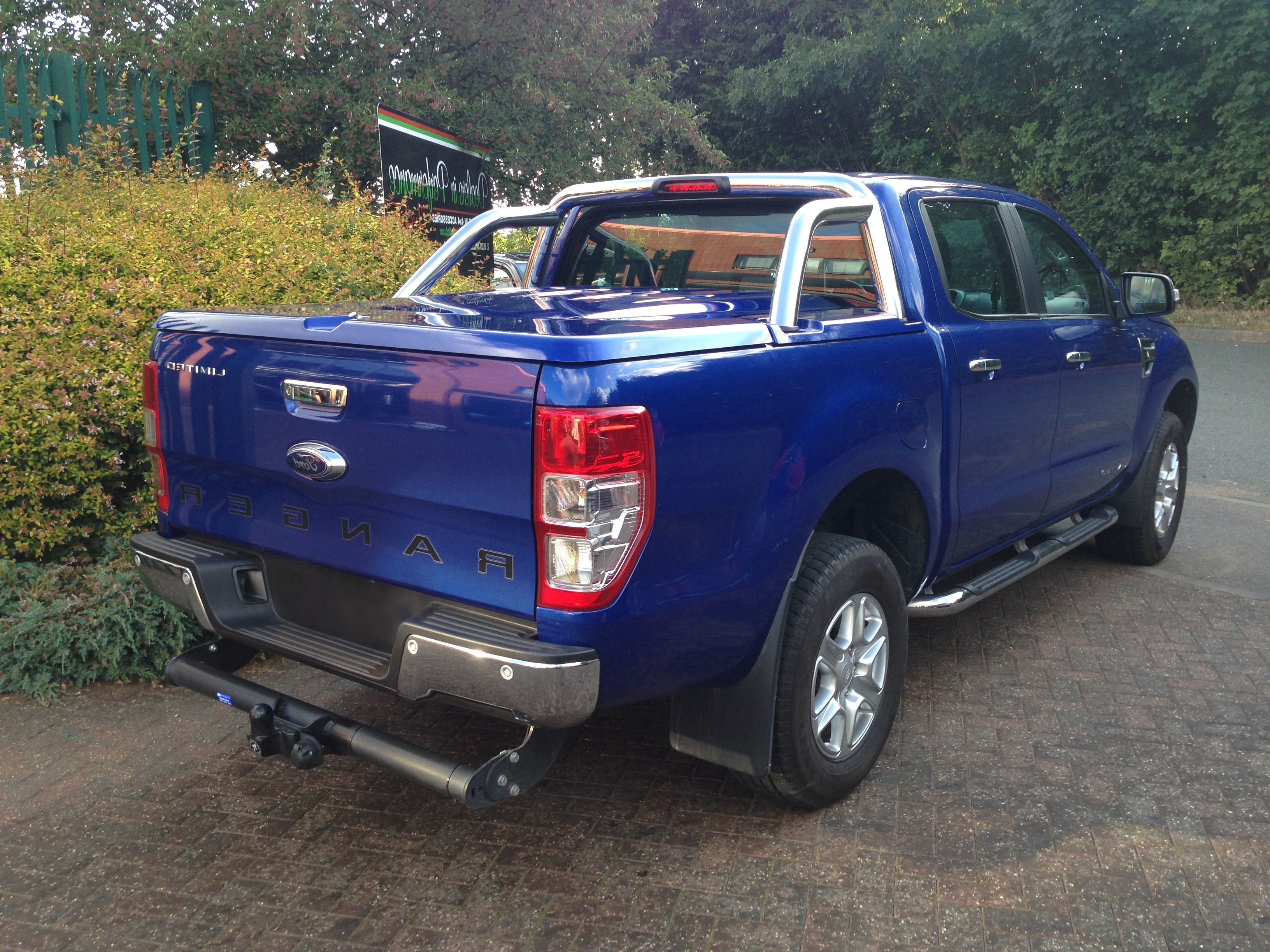 EGR 3 PIECE TONNEAU COVERFord Ranger Mk5/6/7 20122020