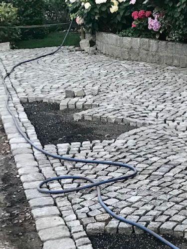 Granit Pflastersteine Hellgrau 7 9 Ebay Pflastersteine Einfahrt Landschaftsbau Granitpflaster