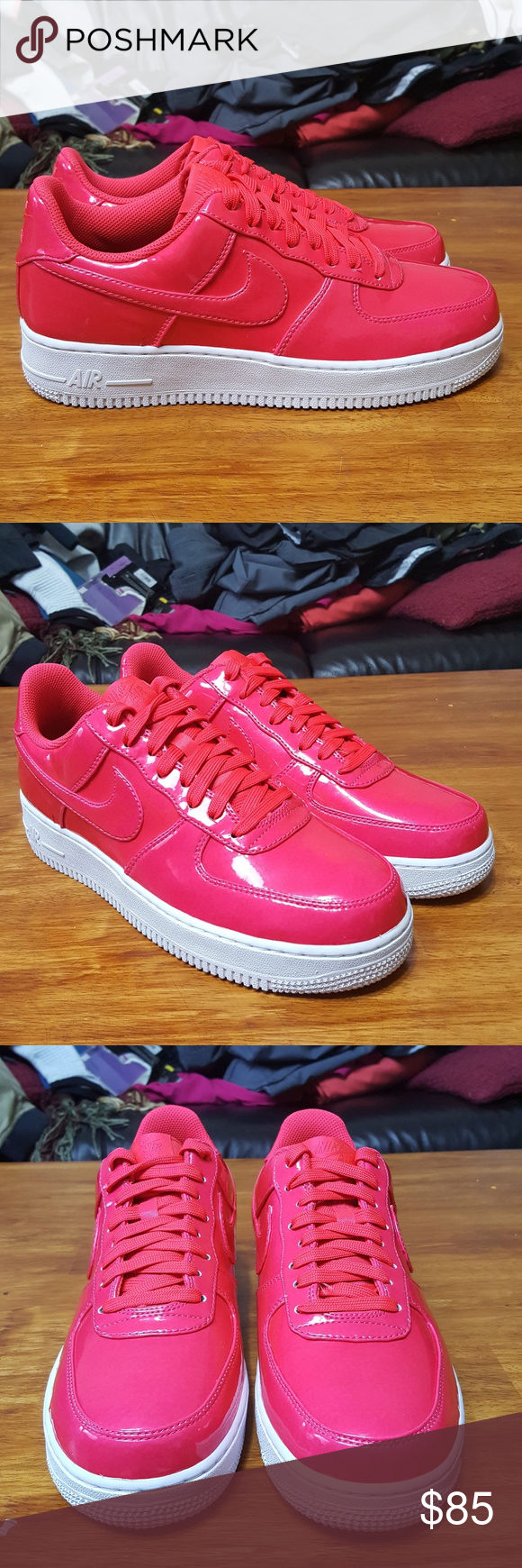 low priced dac6f 3a1a1 Nike Air Force 1 LV8 UV Low Siren Red Pink AJ9505 Nike Air Force 1 One
