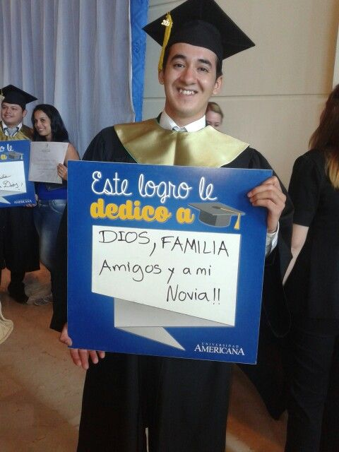 Graduación, profesional de Marketing!