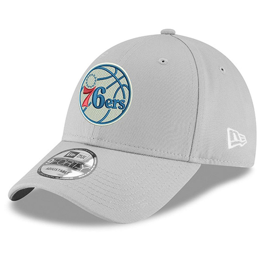 new products df4be b049a Men s Philadelphia 76ers New Era Gray Unite 9FORTY Adjustable Hat, Your  Price   23.99