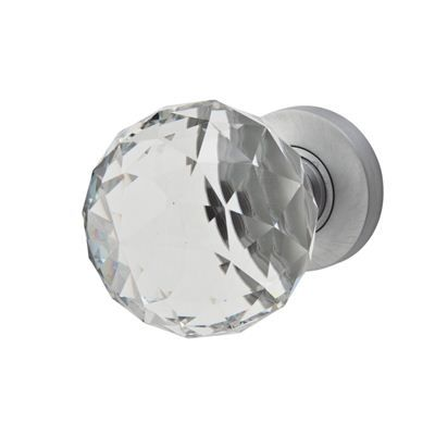 Jedo cut glass door knob satin chrome ironmongery direct jedo cut glass door knob satin chrome ironmongery direct planetlyrics Gallery