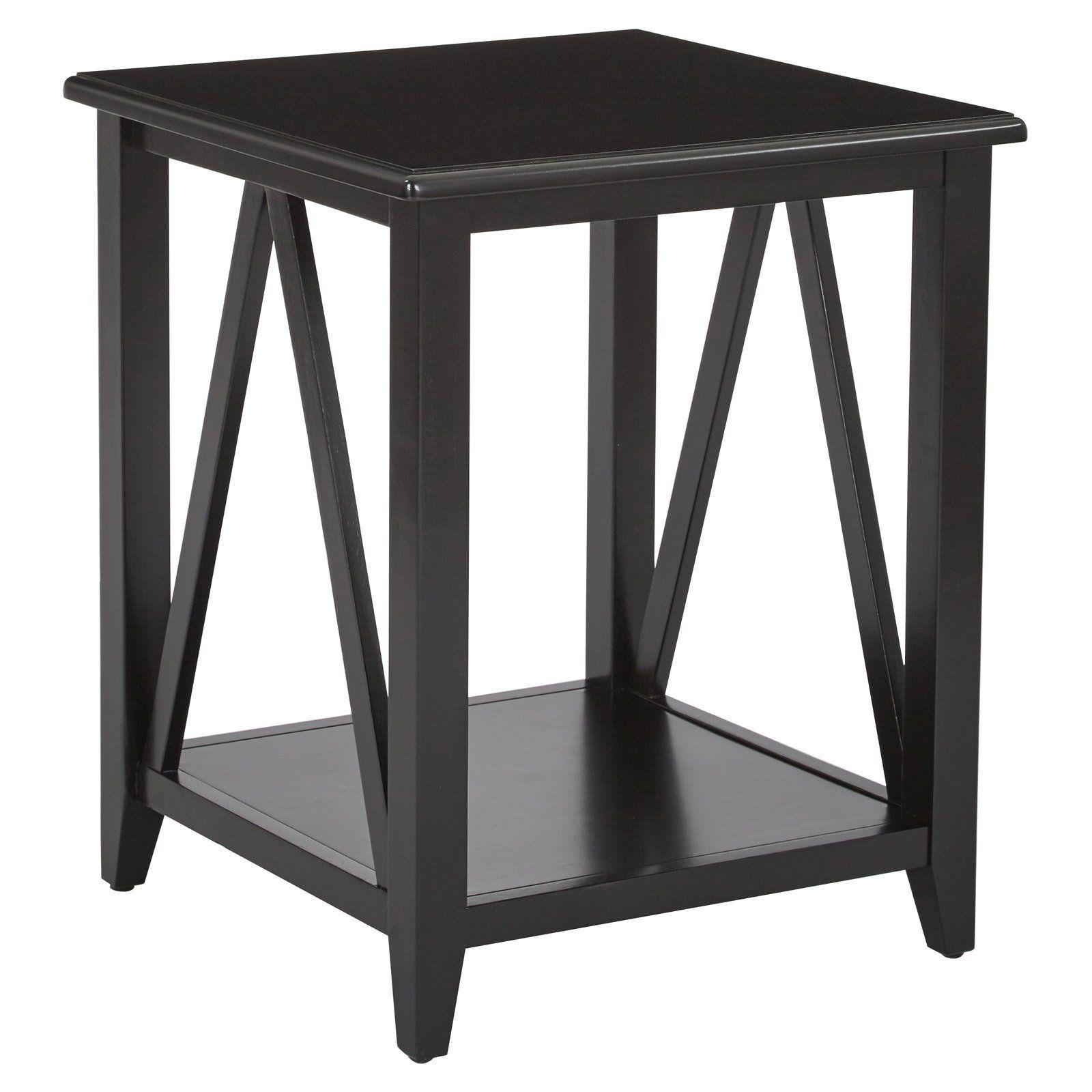 osp designs santa cruz square end table stcz09 bk