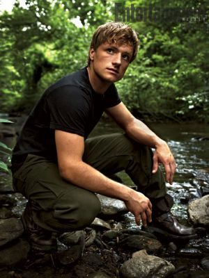 Peeta Mellark. What I would give to play Katniss in these movies...