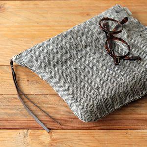 Fog linen work little bag